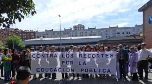Contra los recortes por la educación pública