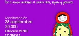 Día d'Acción Global pola Despenalización del Albuertu