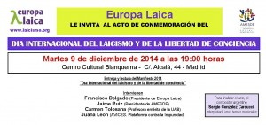 2014Dia Internacional Laicismo