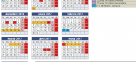 Propuesta de calendariu pal 2016/17 de los sindicatos de la Xunta de Personal