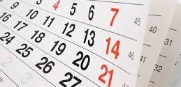 Calendariu de procedimientos de axudicaciones pal cursu 2017/18