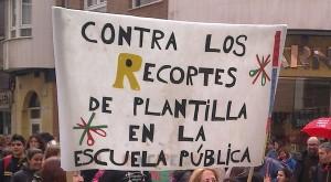 contra los recortes plantiya