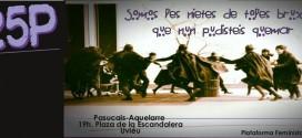 Movilización escontra la violencia machista 25 payares